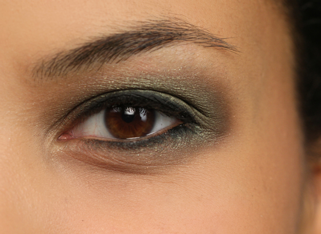 Step 3 open eye JET BLACK  New Years Eve How To
