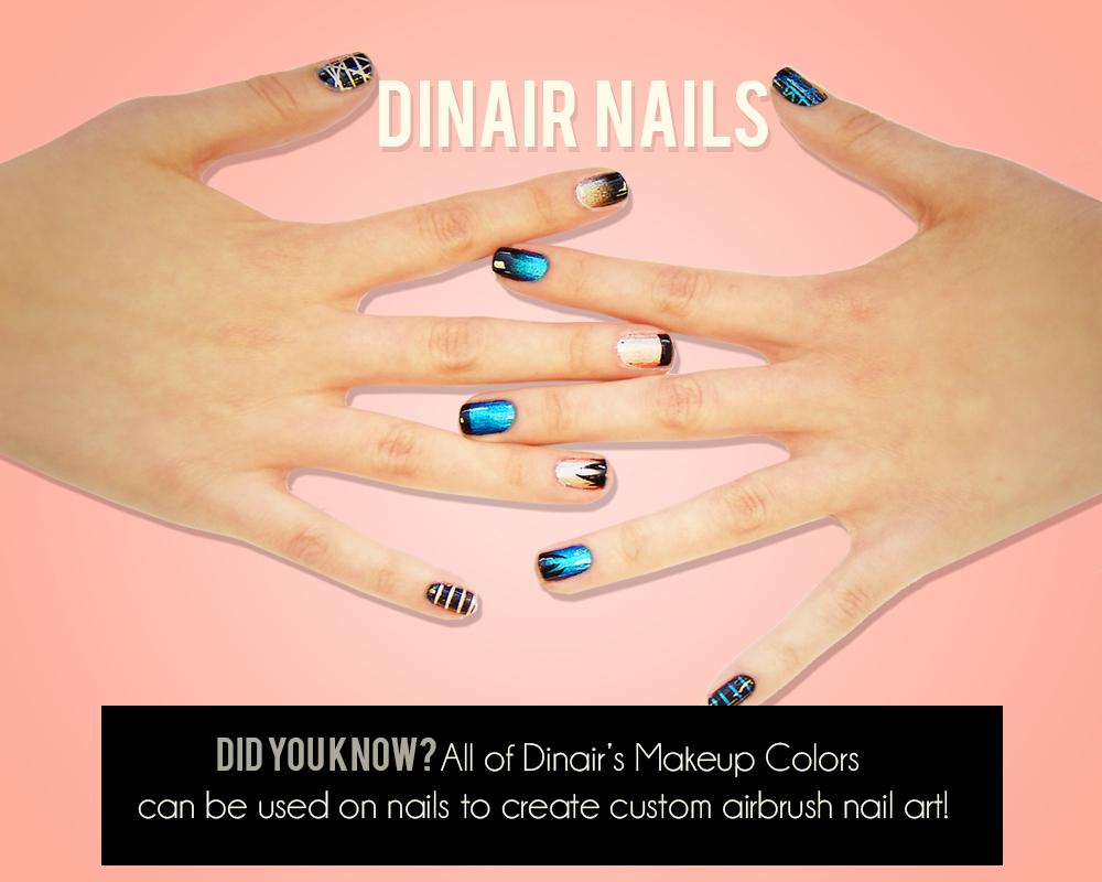 NEW! Dinair Nails